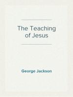 The Teaching of Jesus