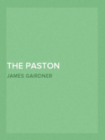 The Paston Letters, Volume V (of 6) New Complete Library Edition