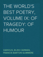 The World's Best Poetry, Volume IX