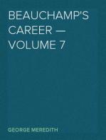 Beauchamp's Career — Volume 7