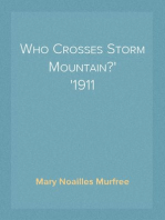 Who Crosses Storm Mountain? 1911