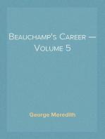 Beauchamp's Career — Volume 5
