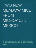 Two New Meadow Mice from Michoacán Mexico