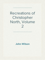 Recreations of Christopher North, Volume 2