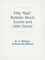 "Fifty ""Bab"" Ballads"