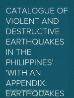 Catalogue of Violent and Destructive Earthquakes in the Philippines With an Appendix