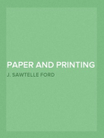 Paper and Printing Recipes A Handy Volume of Practical Recipes, Concerning the Every-Day Business of Stationers, Printers, Binders, and the Kindred Trades