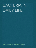 Bacteria in Daily Life