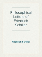 Philosophical Letters of Friedrich Schiller