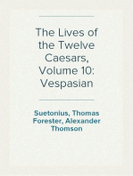 The Lives of the Twelve Caesars, Volume 10
