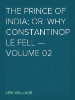 The Prince of India; Or, Why Constantinople Fell — Volume 02