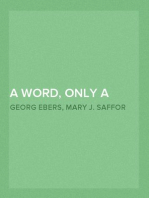 A Word, Only a Word — Volume 05