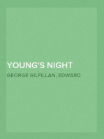 Young's Night Thoughts With Life, Critical Dissertation and Explanatory Notes
