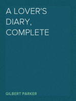 A Lover's Diary, Complete
