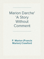 Marion Darche A Story Without Comment