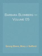 Barbara Blomberg — Volume 05