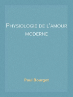 Physiologie de l'amour moderne