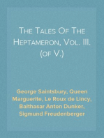 The Tales Of The Heptameron, Vol. III. (of V.)