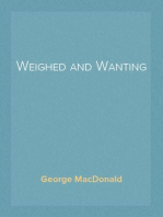 Weighed and Wanting