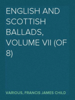 English and Scottish Ballads, Volume VII (of 8)