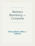 Barbara Blomberg — Complete