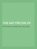 The Satyricon of Petronius Arbiter