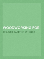 Woodworking for Beginners A Manual for Amateurs