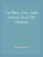 The Bible, King James version, Book 58