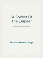 """A Soldier Of The Empire"""