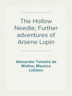 The Hollow Needle; Further adventures of Arsene Lupin