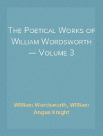 The Poetical Works of William Wordsworth — Volume 3