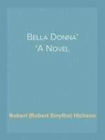 Bella Donna A Novel