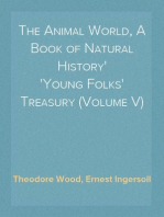 The Animal World, A Book of Natural History Young Folks' Treasury (Volume V)