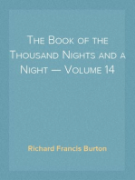 The Book of the Thousand Nights and a Night — Volume 14
