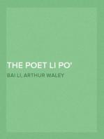The Poet Li Po A.D. 701-762