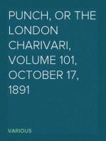 Punch, or the London Charivari, Volume 101, October 17, 1891