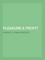 Pleasure & Profit in Bible Study