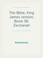 The Bible, King James version, Book 38