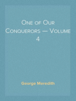 One of Our Conquerors — Volume 4