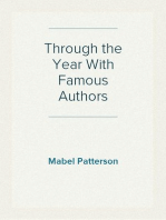 Through the Year With Famous Authors