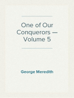 One of Our Conquerors — Volume 5