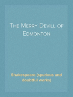 The Merry Devill of Edmonton