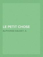 Le Petit Chose (part 1) Histoire d'un Enfant