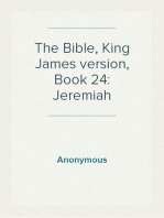 The Bible, King James version, Book 24