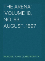 The Arena Volume 18, No. 93, August, 1897