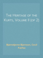 The Heritage of the Kurts, Volume II (of 2)