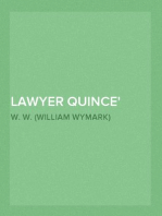 Lawyer Quince Odd Craft, Part 5.
