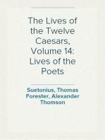 The Lives of the Twelve Caesars, Volume 14