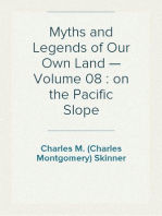 Myths and Legends of Our Own Land — Volume 08