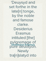 A dialoge or communication of two persons